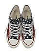 Chuck Taylor All Star Hi Silver and Red Glitter Sneakers - Converse Limited Edition