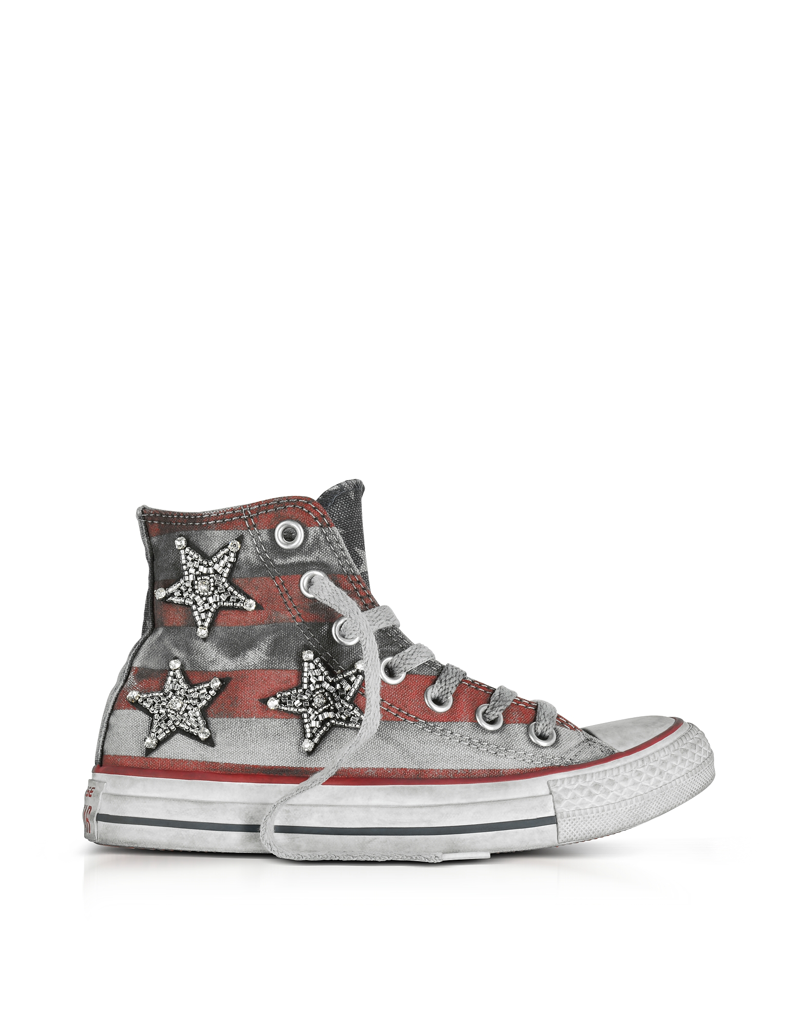 Converse Limited Edition Shoes, Chuck Taylor All Star Jewels Stars and Bars Canvas LTD Sneakers