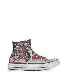 Chuck Taylor All Star Jewels Stars Sneakers in Canvas Distressed - Converse Limited Edition