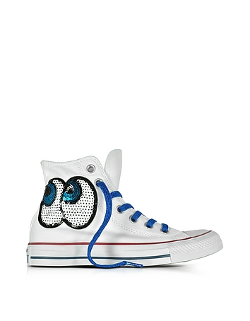 Converse Limited Edition - Chuck Taylor All Star Hi White Tropical Canvas LTD Sneakers