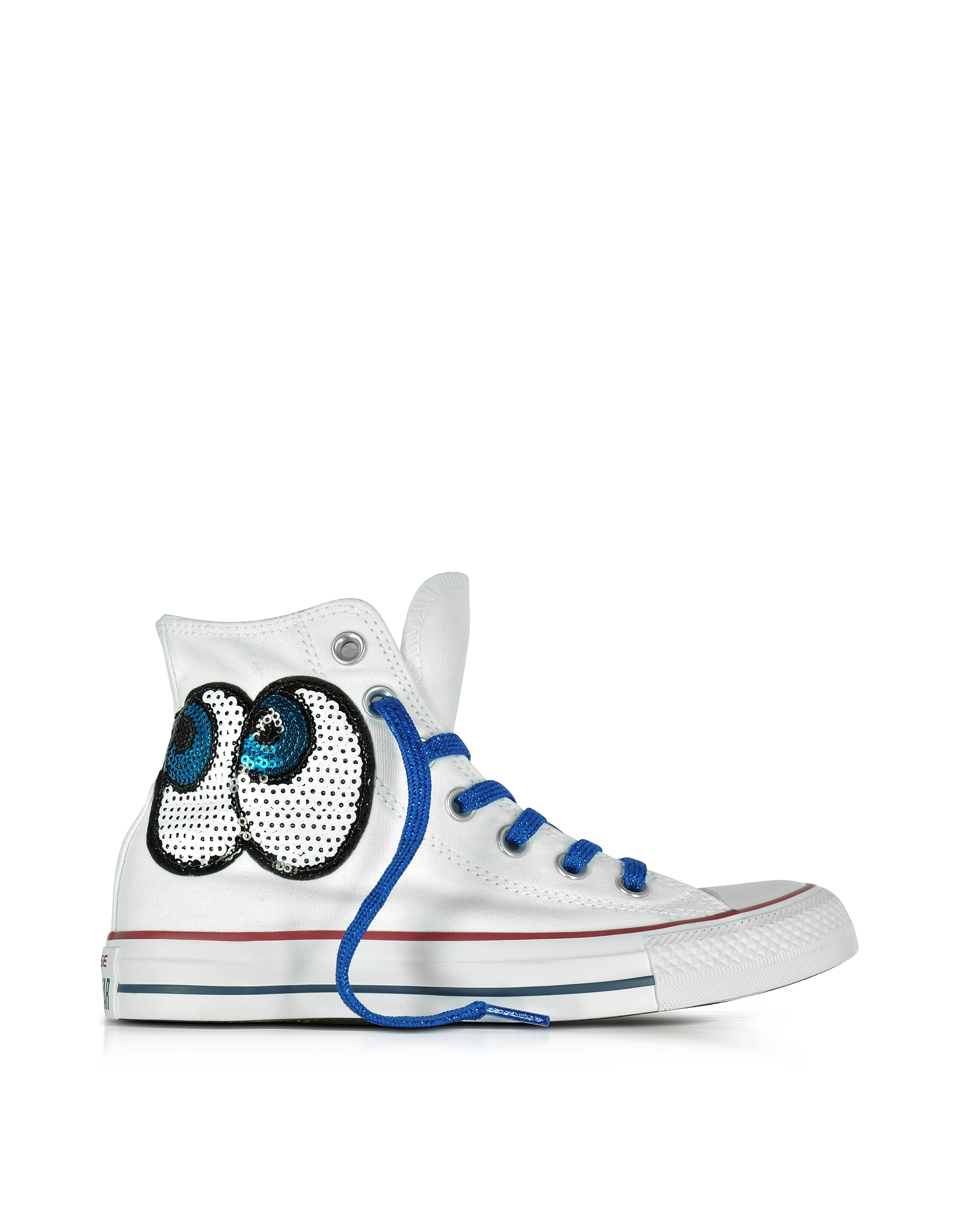 Converse Limited Edition Shoes, Chuck Taylor All Star Hi White Tropical Canvas LTD Sneakers