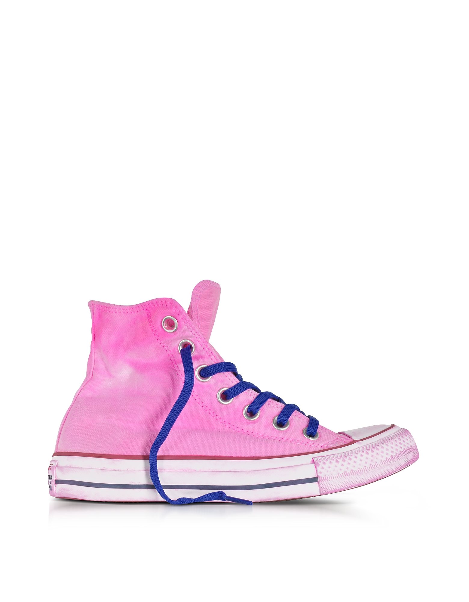 Converse Limited Edition Shoes, Chuck Taylor All Star Hi Neon Fuchsia Canvas LTD Sneakers