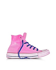 Chuck Taylor All Star Hi Sneakers in Canvas Neon Fuchsia LTD - Converse Limited Edition