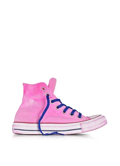 Chuck Taylor All Star Hi Neon Fuchsia Canvas LTD Sneakers - Converse Limited Edition