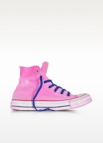 Chuck Taylor All Star Hi Neon Fuchsia Canvas LTD Sneakers - Converse Limited Edition