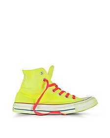 Chuck Taylor All Star Hi Sneakers in Canvas Giallo Fluo LTD - Converse Limited Edition
