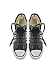 All Star HI Sneaker con Rose Bianche e Nere - Converse Limited Edition