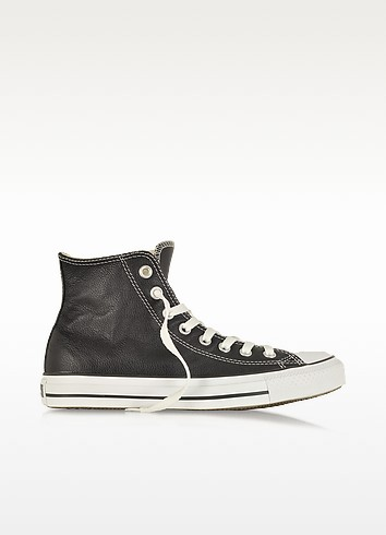 Chuck Taylor Leather Black Sneaker - Converse Limited Edition