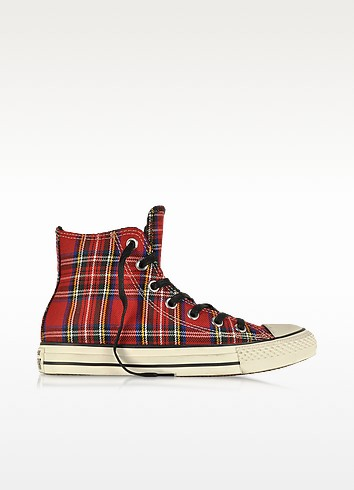 All Star HI tartan - Baskets - Converse Limited Edition