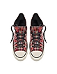 All Star HI Textile Red Tartan Sneaker - Converse Limited Edition
