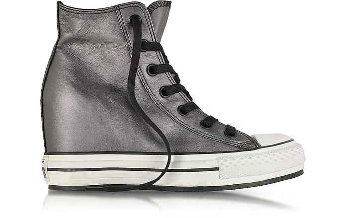 All Star HI Metallic Leather Wedge Sneaker - Converse Limited Edition