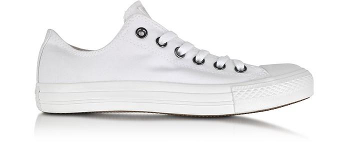 White Monochrome Chuck Taylor All Star Lo Canvas Sneaker - Converse Limited Edition