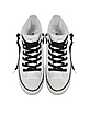 All Star Hi White Quilted Fabric Sneaker - Converse Limited Edition