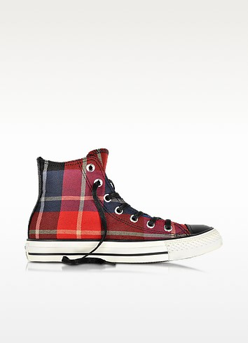 All Star Hi Checked Fabric Sneaker - Converse Limited Edition