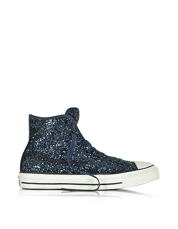 Converse Limited Edition - All Star High Navy Glitter Women's Sneaker