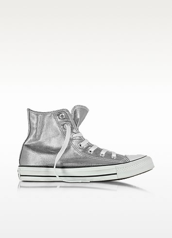 All Star High Gunmetal Canvas Women's Sneaker - Converse Limited Edition