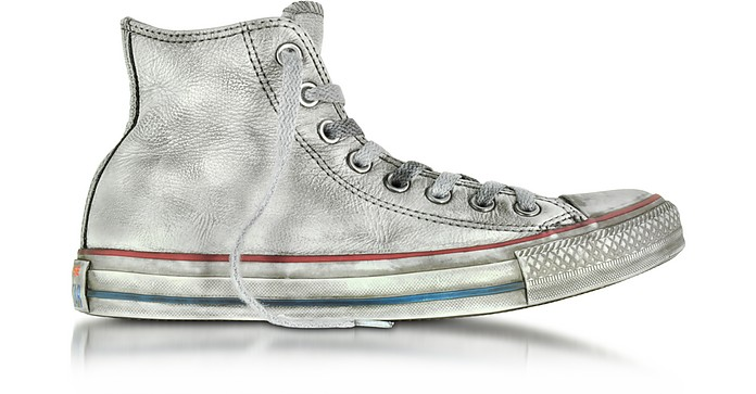 All Star High Concrete Smoke Leather LTD Unisex Shoes - Converse Limited Edition