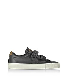 Pro Leather Vulc - Baskets Basses Unisexe en Cuir Noir Vieilli - Converse Limited Edition