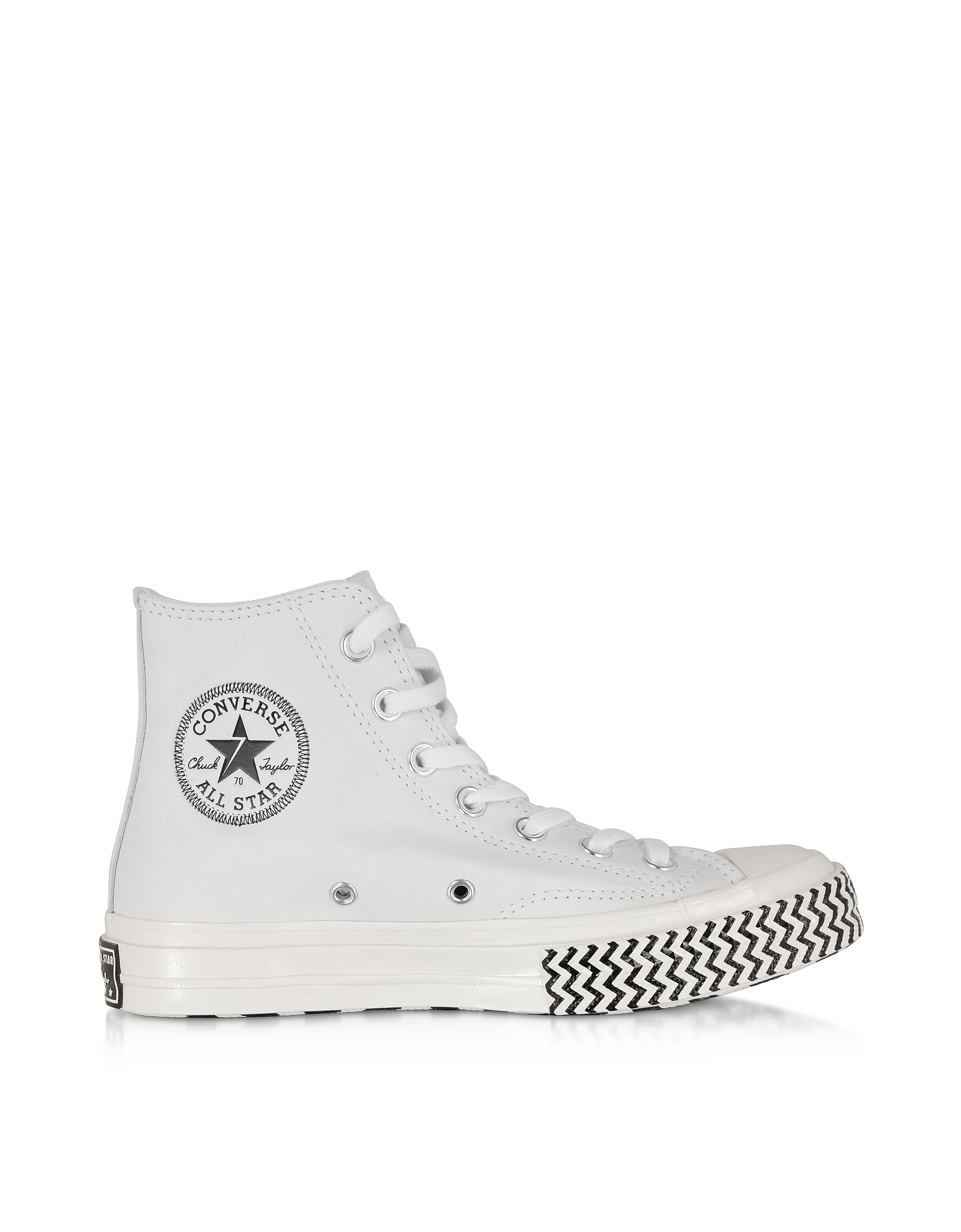 Converse Limited Edition Designer Shoes, White Chuck 70 Mission-V High Top