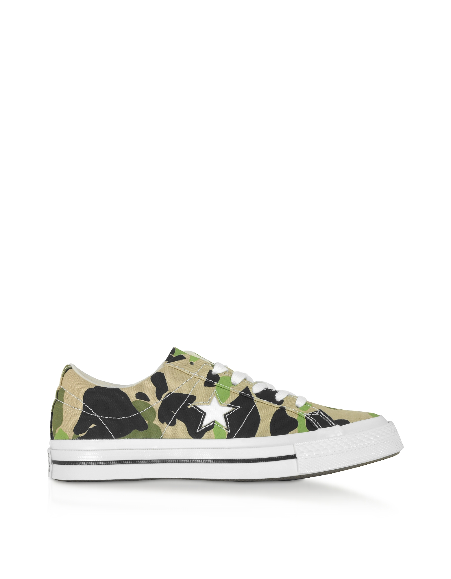 Converse Limited Edition Designer Shoes, One Star w/ Archive Prints Remix Low Top