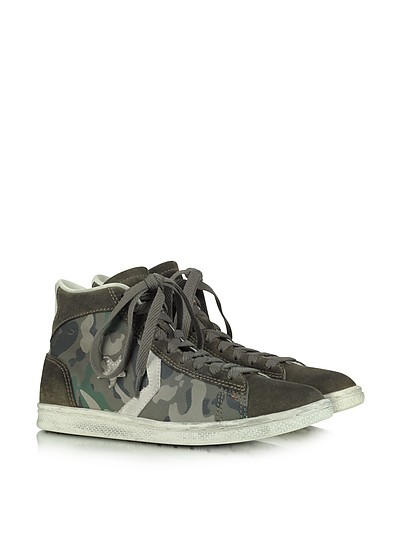 Pro Leather Mid Canvas and Suede Sneaker - Converse Limited Edition