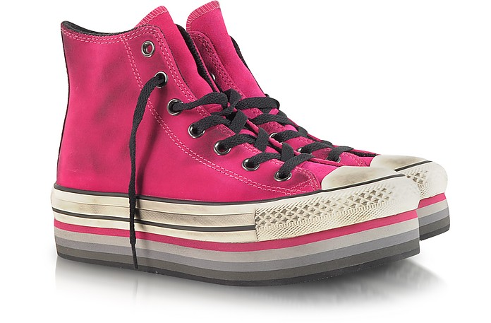 Eva Suede Hightop Sneakers - Converse Limited Edition