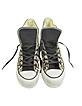 White Leopard Print All Star Platform Hi Canvas - Converse Limited Edition