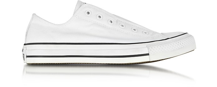 All Star Ox Optical White Canvas Slip Sneaker - Converse Limited Edition