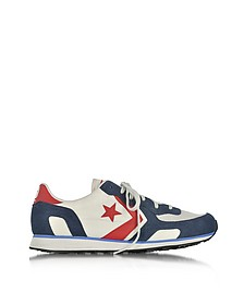 Auckland Racer Distressed Ox - Мужские Кроссовки Отенков Vaporous Gary/Athletic Navy  - Converse Limited Edition