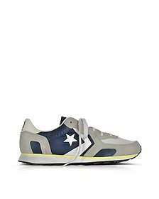 Auckland Racer Sneaker da uomo in Suede e Rete Athletic Navy e Ghost Gray - Converse Limited Edition