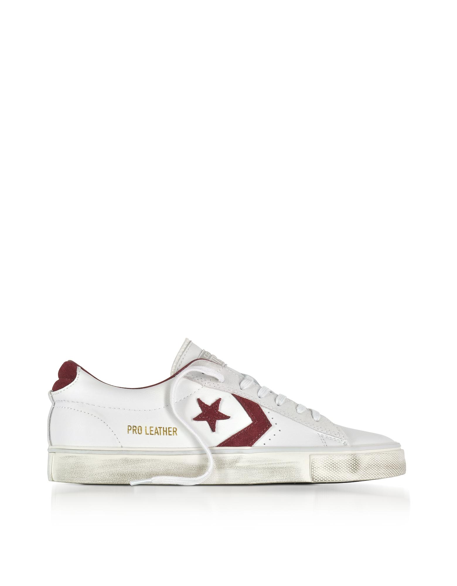 Pro Leather Vulc - Низкие Белые Кожаные Кроссовки