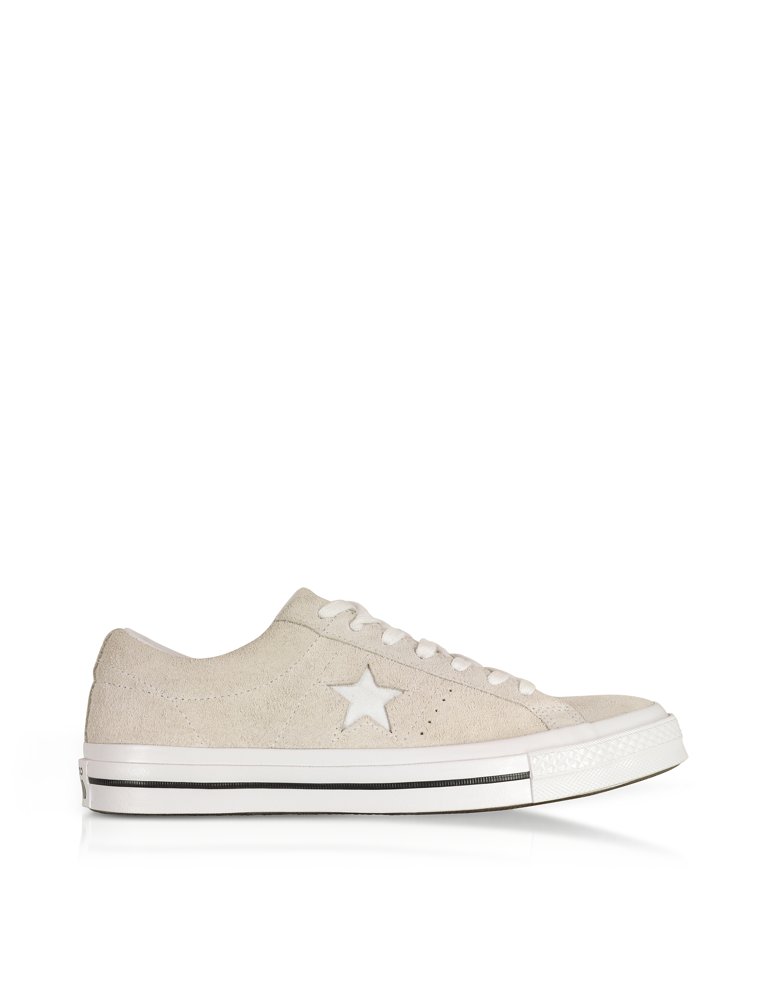 One Star Ox White Low Top Men's Sneakers