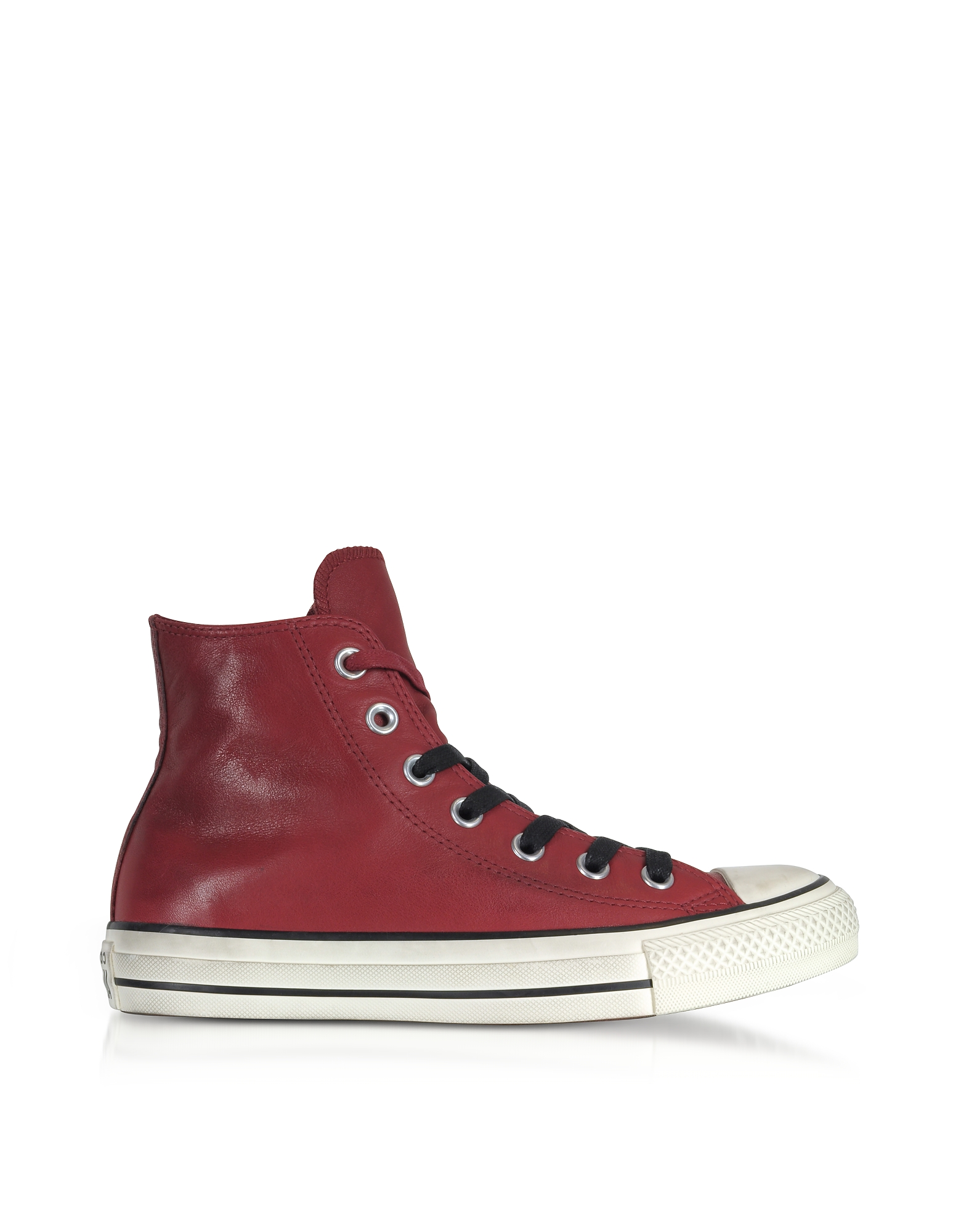 Chuck Taylor All Star High Distressed Leather Men's Sneakers