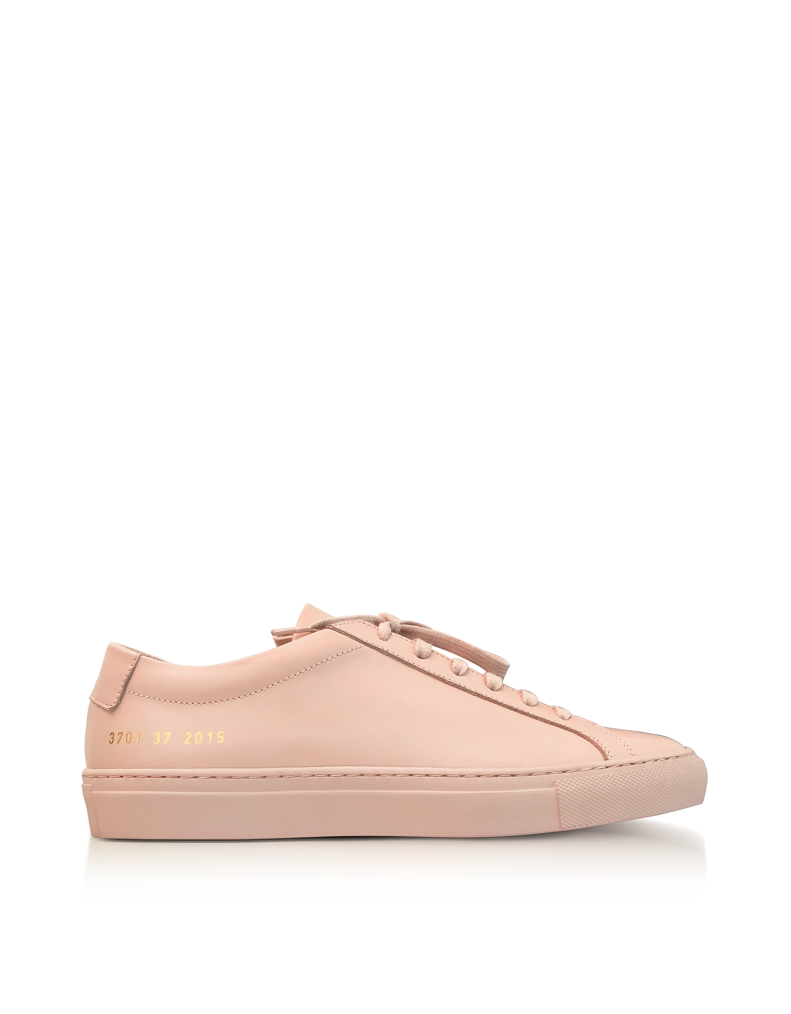 Common Projects Shoes, Blush Leather Achilles Original Low Top Women's Sneakers