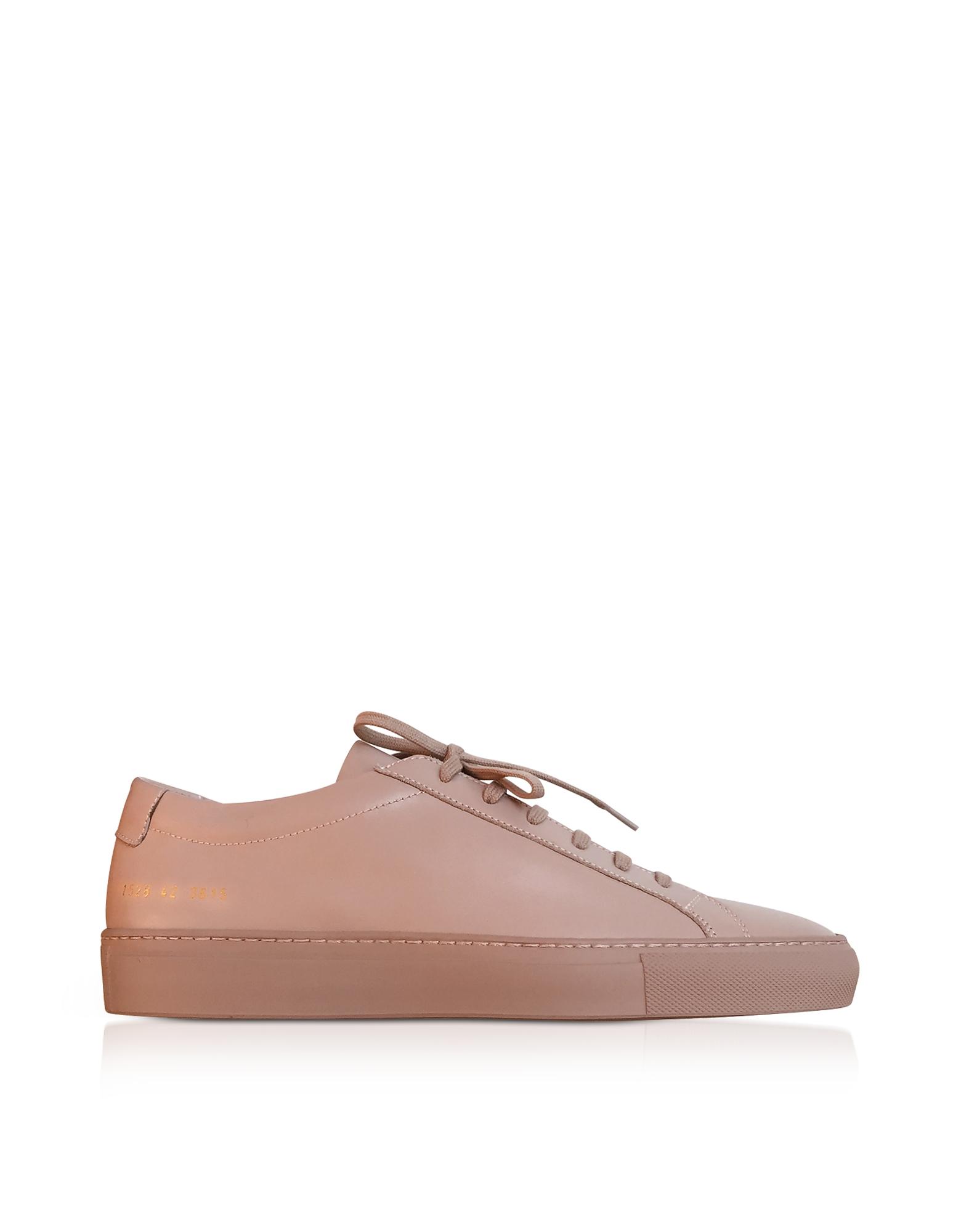 Dusty Pink Leather Original Achilles Low Men's Snaeakers