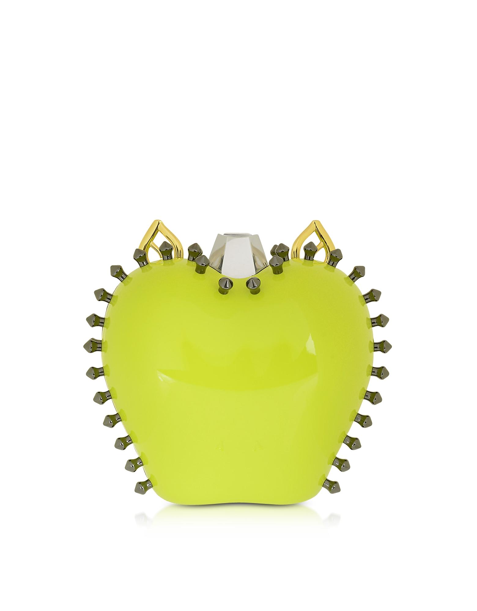 Carlotta Roma Handbags, Topaz Mirror Mylie Clutch