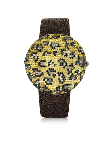 Christian Koban - Clou Leopard Diamond Dinner Watch