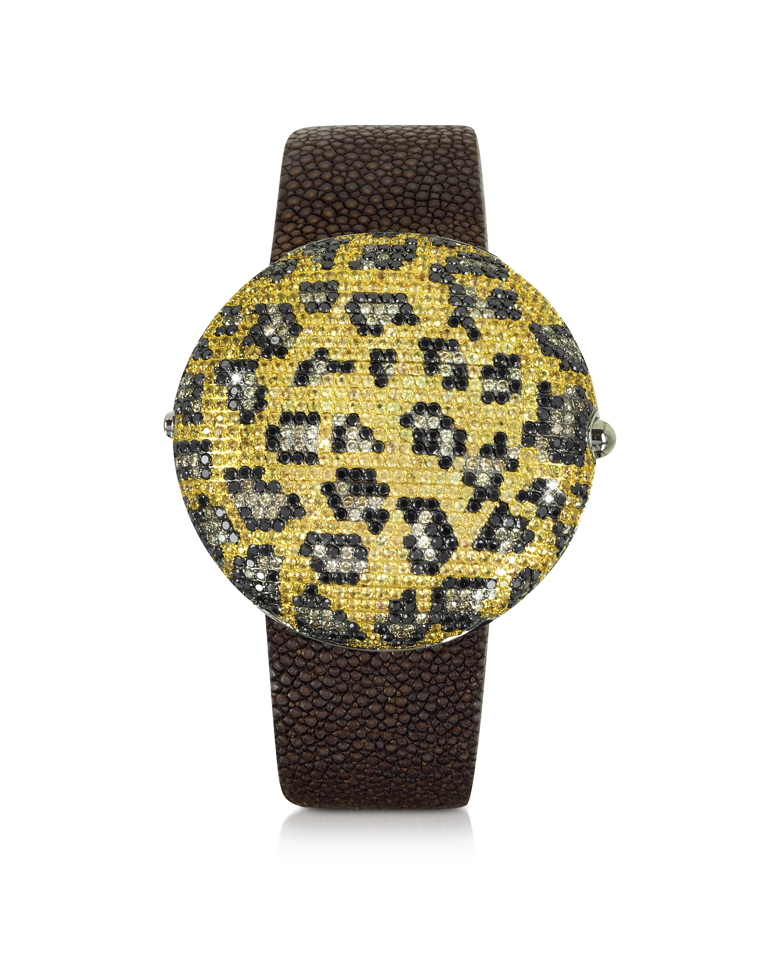 Christian Koban Women's Watches, Clou Leopard Diamond Dinner Watch