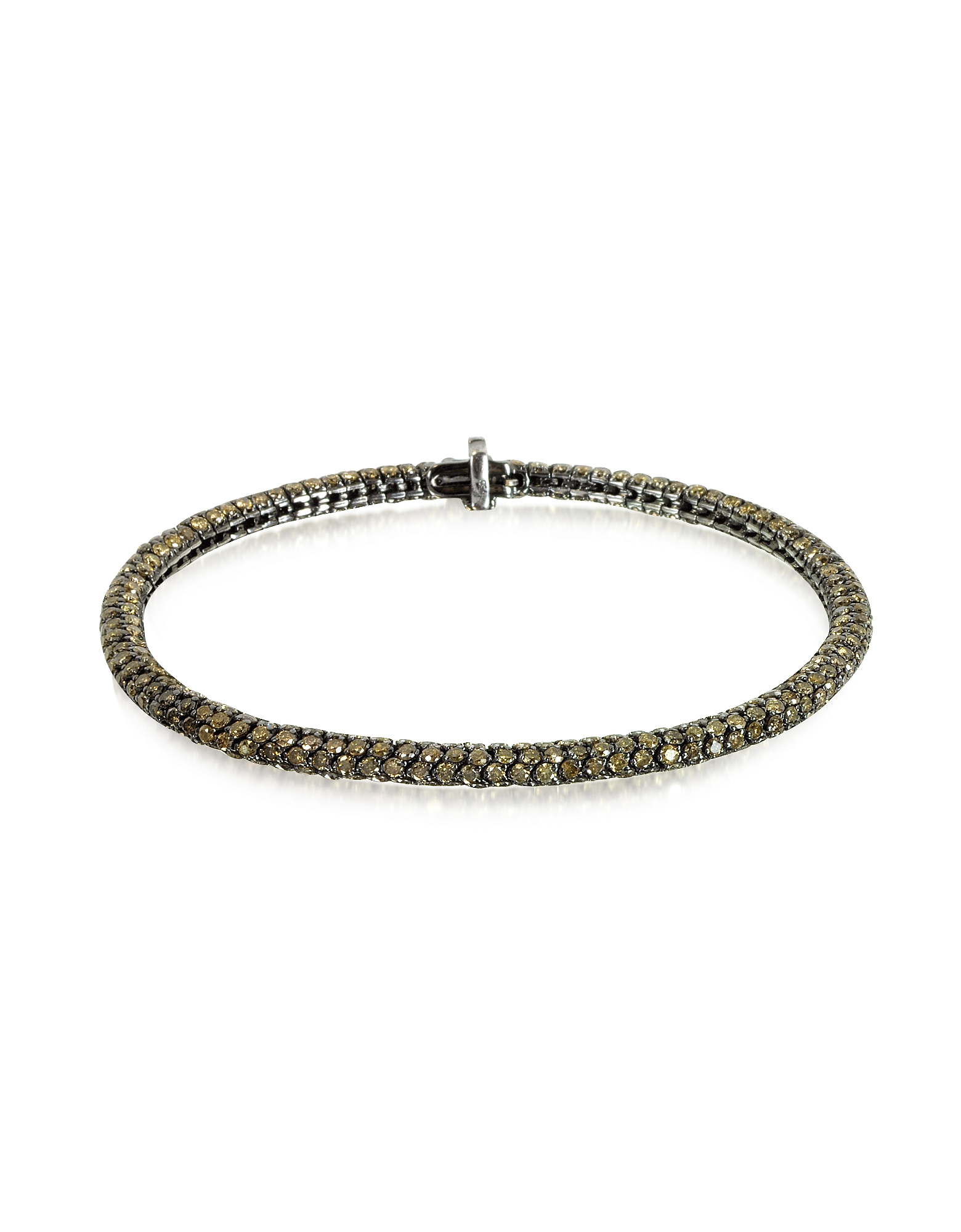 Christian Koban Bracelets, Clou Brown Diamond Bracelet