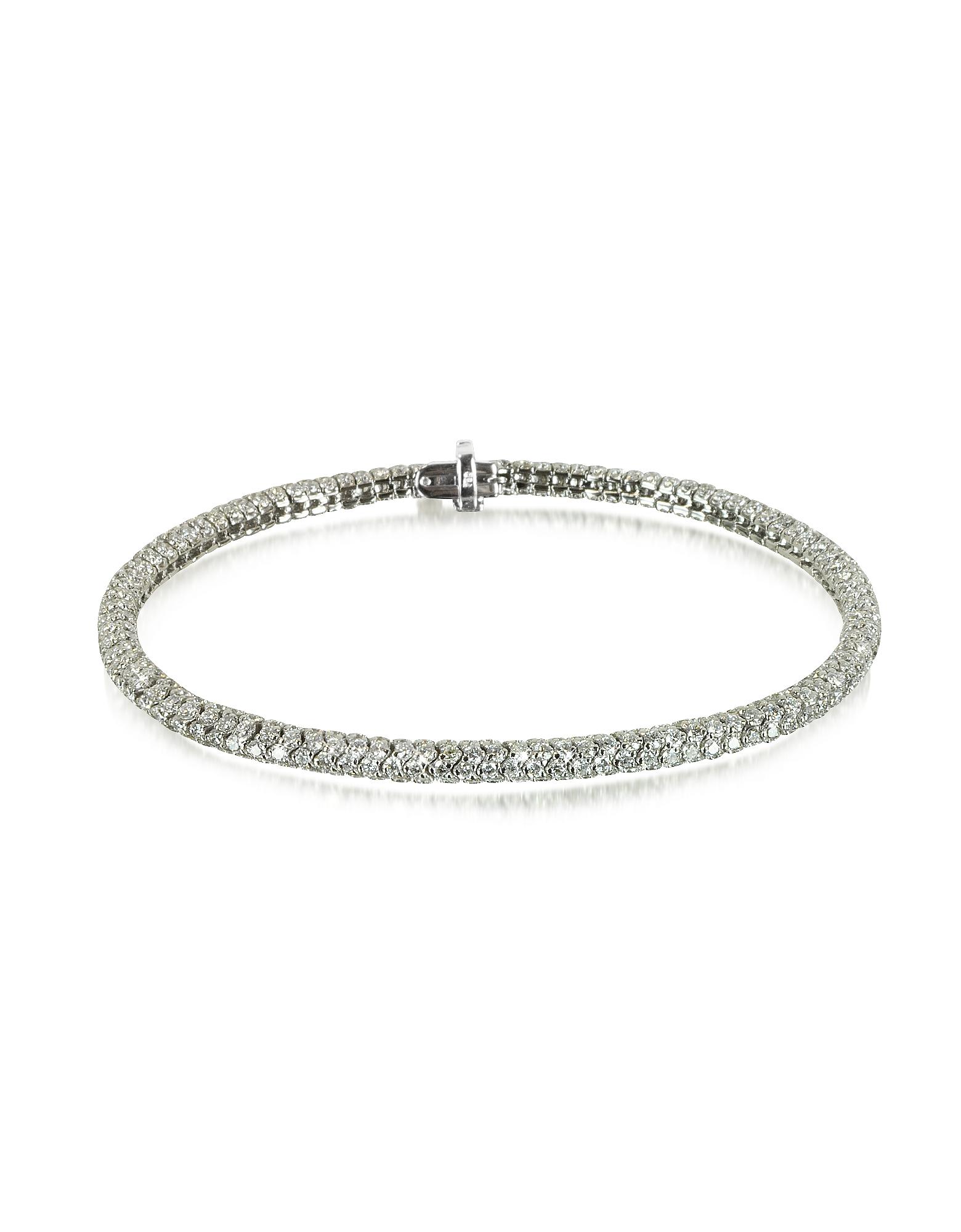 Christian Koban Bracelets, Clou White Diamond Bracelet