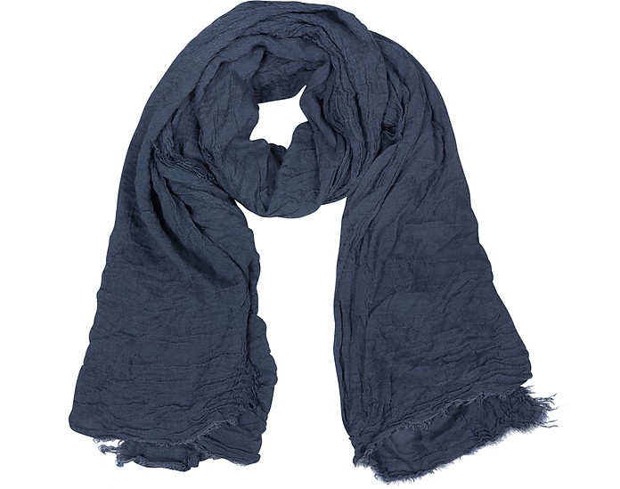 Woven Fringed Long Scarf - Coveri Collection
