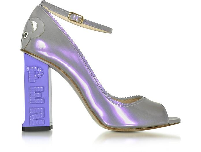 Pez Classics Australia Lilac Patent Leather Pump - Camilla Elphick
