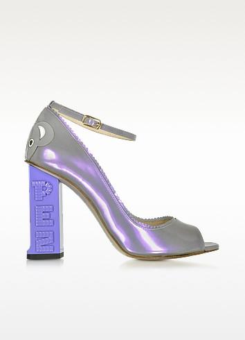 Pez Classics Australia 丁香色漆皮高跟鞋 - Camilla Elphick