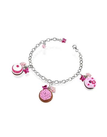 Dolci Gioie - Sterling Silver Detachable Charm Bracelet
