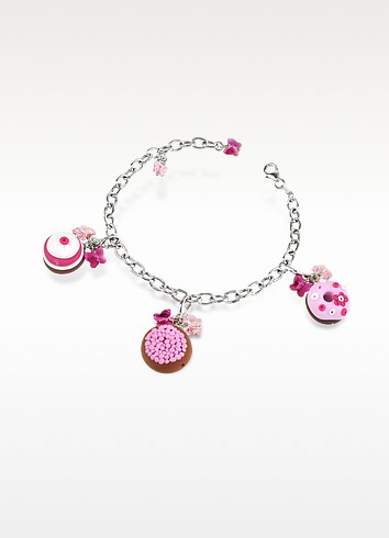 Sterling Silver Detachable Charm Bracelet - Dolci Gioie