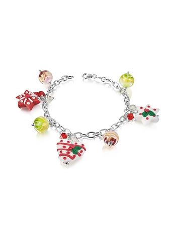 Dolci Gioie - Christmas Hearts and Stars Bracelet