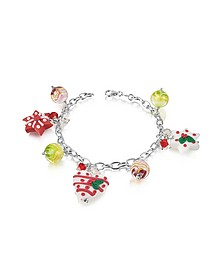 Christmas Hearts and Stars Bracelet - Dolci Gioie