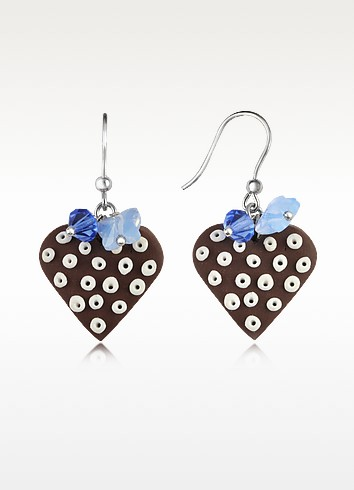Heart Cake Earrings - Dolci Gioie