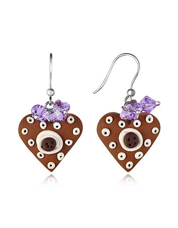 Heart Cake Earrings