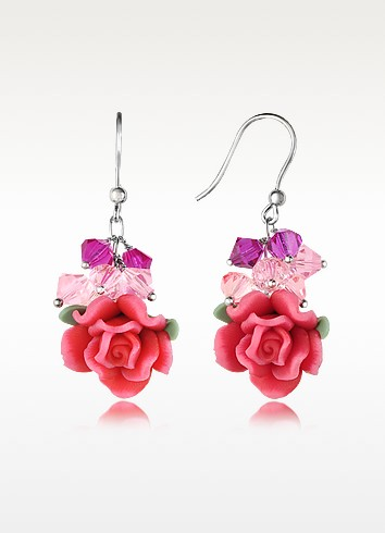 Rose Earrings - Dolci Gioie